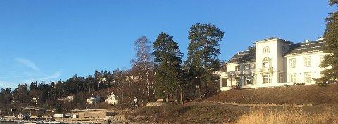 SJØHOLMEN: Dette er et kunst- og kulturhus med en rekke aktiviteter.
