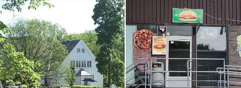 Vitenparken (til venstre) og Ski Grill & Pizza Hus fikk strekmunn på Mattilsynets seneste kontroll. Begge lederne sier de har ryddet opp.