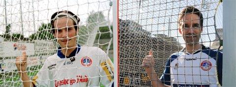 SNART 40: Alder er bare et tall. Stian Nikodemussen scorer fortsatt på bestilling i lokalfotballen.