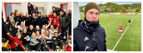 BLI MED PÅ iHARSTAD-LAGET: iHarstad viser mye fotball i år. Her et par bilder fra i fjor høst, da vi streamet Medkila mot Kolbotn og Marcus Åshovd debuterte som kommentator i Skånland. Er du vår neste medarbeider?