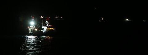 FISKE: Det foregår et eventyrlig sildefiske i Nord-Troms .  Det var i forbindelse med dette fisket ulykken tirsdag skjedde