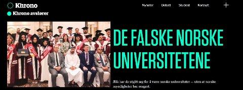 """DIPLOMSERMONI: I fjor høst skal lokallagslederen i Lier, Aihan Jaf (til høyre på fremste rad) ha delt ut """"æresdoktorgrader"""" i samarbeid med et egyptisk akademi, på et hotell i De forente arabiske emirater. Ifølge Khronos kilder har Jaf ingen høyere utdanning, men han titulerer seg selv Dr. og president i """"Oslo International University for Studies and Research»."""