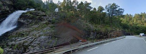 SVANDALSFOSSEN: Arbeidet ved Svandalsfossen på fylkesvei 520 skal etter planen starte i begynnelsen av juli.