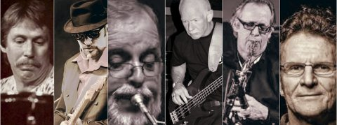 Music: Bandet med de voksne guttene som i dag er mellom 68 og 75 år spiller i Spektrum i september. (F.v.) Gøsta Lindh (trommer), Willy Andersen (gitar/vokal), Torgrim Sollid (trompet/perk) Terje Sternang (bass/vokal), Guttorm (stumpen) Guttormsen (fløyte/sax) og Bodvar D. Moe (keyboards)