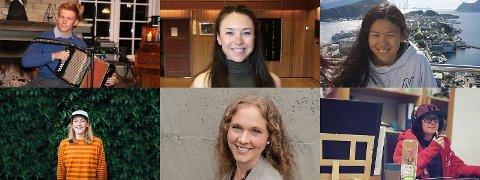 DRØMMERE: Vegard Thon, Katelin Jane Haugen, Anna Hui Opsahl, Anna Ueland,  Marit Warberg Vestheim og Inger Turid Kolbjørnshus er nominerte til årets drømmestipend, der 50 stipend à 30 000 kroner skal deles ut.