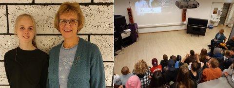 VALGVAKE: Med debatt, valgsending og læring om demokratiet, fikk elevene ved skolen en svært engasjerende dag.