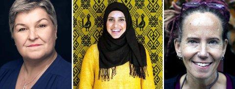 Anne Sender, Faten Mahadi Al-Hussaini og Sunniva Gylver