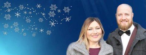 TO KONSERTER: Marianne Pentha og Øyvind Boye frister med to julekonserter i Nord-Østerdal.