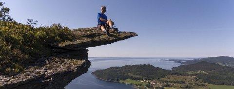 Himakånå:  Blei veldig populær etter dette bildet. Foto: Einar Tho, Haugesunds Avis
