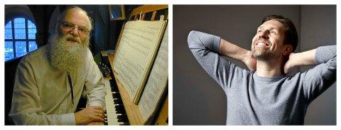 HUSKER UNG ANDSNES: Pensjonert organist Svein Næss husker godt da Leif Ove Andsnes som guttunge kom ruslende inn i kirka for å prøve flygelet i Namsos kirke. – Jeg minnes at jeg fikk spille på det nye flygelet, sier Leif Ove Andsnes i dag.