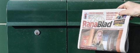 Journalistikken har først verdi når den kommer fram til leserne, skriver Rana Blads sjefredaktør Marit Ulriksen.