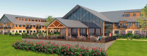 GJESTEGÅRD: I framtida kan det bli gjestegård på tidligere Hersjøen Camping. (Ill.: Plan 1)