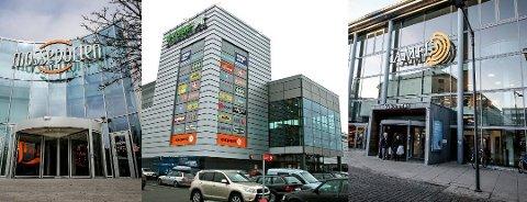 MYE FOLK: Moss kommune har fått tilbakemeldinger at det er veldig mange på kjøpesentrene.