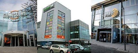 ØKT ÅPNINGSTID: Kjøpesentrene i Moss har økt åpningstiden noe og mange butikker har åpnet igjen.