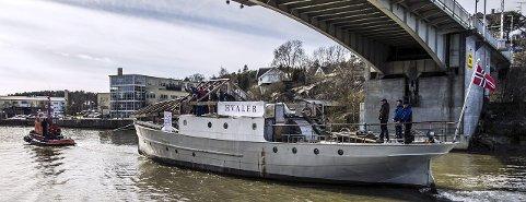 VIL FÅ MER: «D/S Hvaler» trenger mer penger, derfor har politikerne både sett på tildelinger og overføring av overskudd til den spesielle båten. Det ga 265.000 kr.Arkivfoto: Geir A. Carlsson