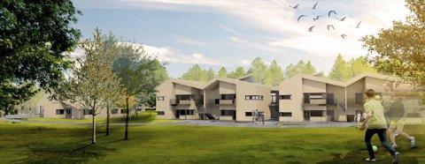BLIR SLIK? Høyre ønsker å realisere Myrvang boliger slik prosjektet foreligger.