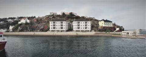 Med denne illustrasjonen av Hasalen-prosjektet, utført av Halvorsen arkitekter, håper Løkteskjær AS at folk vil få en bedre forståelse av hvordan området kan komme til å se ut.