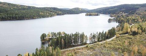 SJØKRYSSING: Elvia planlegger å legge en høyspentkabel på bunnen av Bæreia.