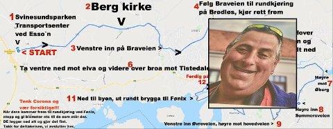 DØD: Rune Gråbein Svendsen døde fredag 31. juli. Onsdag kveld samles et ukjent antall personer seg på Svinesundparken for å delta i kortesjen til minne om haldenseren. - Runes bortgang har berørt mange, sier arrangørene.