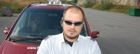 Taxi-eier Frank Yttergård har fem biler i drift i Flakstad og Moskenes.