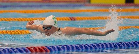LEGGER BADEHETTA PÅ HYLLA: Marie Hellberg Munthe har bestemt seg for å legge opp. Ås-jenta vant 200 meter butterfly på junior NM i sommer. Da ble hun også fire i seniorfinalen.