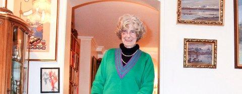 Turid Johanne Høyersten Holm sovnet inn med familien rundt seg, 4 november. Hun ble 87 år.