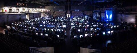 HordaLAN 2015 i Sotra arena.