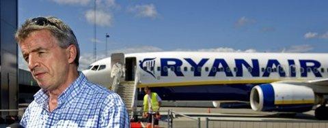 I NY TURBULLENS: Konsernsjef Michael O'Leary i Ryanair er nå redd for at påsketrafikken rammes.