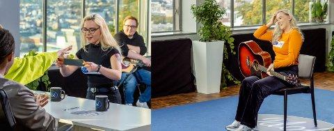VIDERE: Både Angelika Frajberg (t.v.) og Kamilla Gulbrandsen er videre i «Idol».