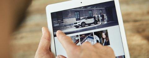 IKKE EIE: Volvo kjører ut det de sier er en ny måte å disponere bil på. En abonnementstjeneste.