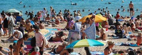 Spaniaposten melder om flere koronasmittede i Norge, enn i spanske ferieparadis.  Foto: Illustrasjon