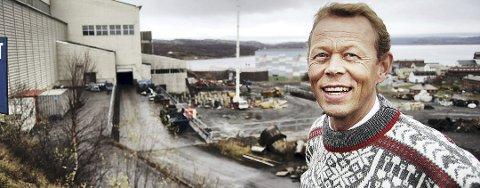 STYRELDER I SYD-VARANGER: Peter Steines Larsen i Syd-Varanger er glad for oppkjøpet fra amerikanske selskapet Tacora Resources Inc. Bildet er tatt fra en annen anledning.