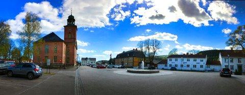 KIRKETORGET: Kongsberg kirke byr på kulturkveld onsdag 9. oktober.