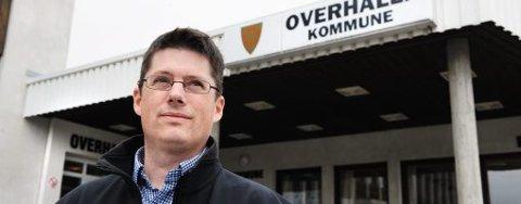 Kommunedirektør: – Vi har god oversikt og god kontroll på personen, det er ingen behov for videre aksjoner, sier Trond Stenvik , kommunedirektør i Overhalla.