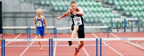 NORGES BESTE: Andreas Totsås er fire ganger norsk mester på 400 meter hekk. Spillumsmannen som bor i Gøteborg, mener dog at Warholm driver en helt annen idrett enn det han selv drev med.