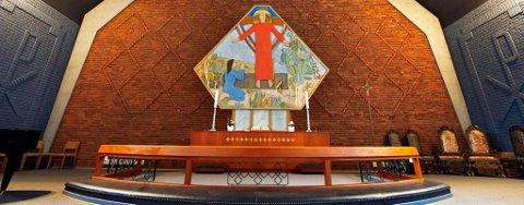 NYE TILTAK: Kort tid etter at regjeringa tirsdag kveld presenterte nye nasjonale smittevernstiltak, besluttet Den norske kirke å anbefale at alle gudstjenester avlyses fram til 12. april.
