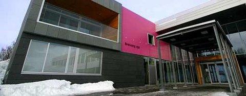 INGEN SMITTEDE: Her er den eneste videregående.skolen i Tromsø som ikke hatt et smittetilfelle.