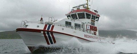 BIDRO TIL RADIOTEST: NRK har testet DAB-radio til havs i sommer, i samarbeid med Redningsselskapet. Foto: Torgrim Rath Olsen