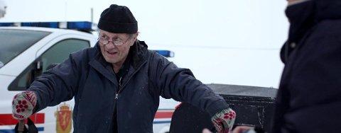 EVAKUERES IGJEN: Alf Breivik venter igjen på å bli evakuert fra Breivikeidet. Dette bildet er fra 2011 da området ble evakuert på samme tid av året som nå.