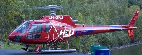 FARLIG SITUASJON: En drone ble konfiskert etter at den tvang et helikopter på bakken. Bildet er tatt ved en annen anledning.