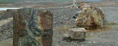 I Bidjovágge i Finnmark er det gjort store gullfunn. Foto: Arctic Gold AB