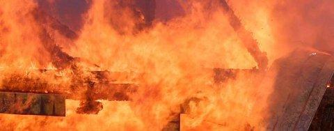 STOR BRANNMESSE: Norges største brann- og redningsmesse arrangeres i Fjellhallen til helga.
