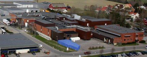 NYTT VAKSINESENTER: Industriveien 3, også kjent som det gamle Nortura-bygget, vil bli Rakkestad kommune sitt nye vaksinesenter.
