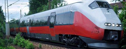 PÅDRIVER: – Norge må påta seg pådriverrollen i en norsk-svensk jernbanesatsing og gods- og persontrafikken skilles, mener Jan Erik Erichsen i Halden Høyre.