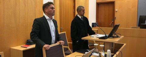 AKTORATET: Politiadvokat Richard Beck Pedersen (til høyre) og politioverbetjent Anders Relling i Kripos.