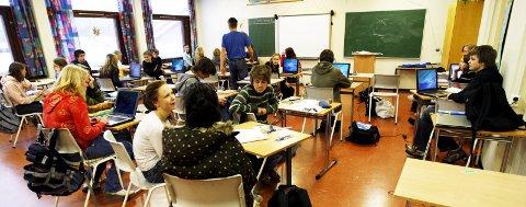 GI RAMMER: Skoleeier må sette skole på dagsorden og gi rammer som sikrer solid faglig kompetanse både på kommunenivå og i skolene, skriver  Bjart Grutle. 8 8Ill.foto: NTB SCANPIX