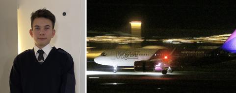 FIKK PROBLEMER: Wizz Air ønsket ikke å lande på Stavanger lufthavn. Det skapte trøbbel for en rekke passasjerer.