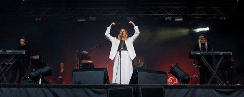 PÅ HJEMMEBANE: Susanne Sundfør fra konserten under Byfest i fjor.