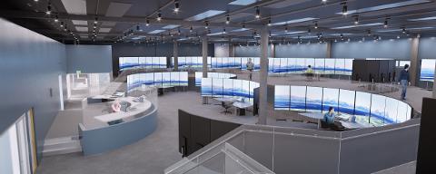 FJERNSTYRT: Dette senteret i Bodø vil erstatte flytårnet ved Haugesund lufthavn og 14 andre flyplasser.