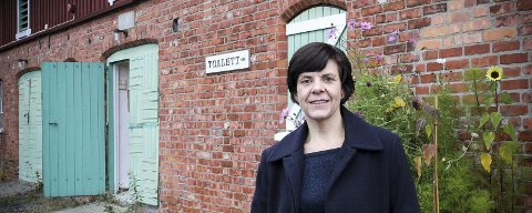 Cecilie Øien, museumsdirektør for Museene i Akershus (MiA), har fått 1,38 millioner kroner til et prosjekt hun brenner sterkt for og som skal få flere ut i arbeidslivet. FOTO: ELISABETH JOHNSEN